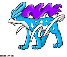 Suicune Chibi 2 by TheLegendaryThree