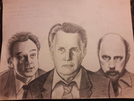 The West Wing Josh Jed Toby by DoctorFantastic