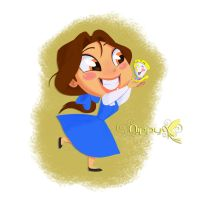Belle and Chip by Nippy13
