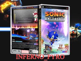 Sonic Unleashed PSP 3D by Arby-Works