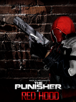 The Punisher vs Red Hood by ArkhamNatic