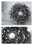 Chainmaille ball by S-Chainmaille