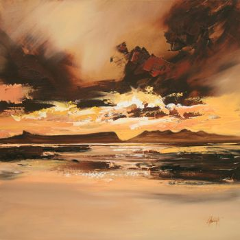 Arisaig Dusk Light by NaismithArt