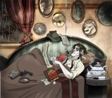 Hard time for Sherlock Holmes by Sally-Avernier