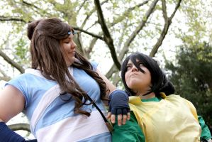ATLA - Katara and Toph by shee91