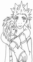 AkuZeku - hug by fanfiction-fanatic