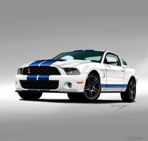 Ford Mustang Shelby GT500 by Shinjeongho