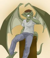Gargoyle BrooklynX by shinga