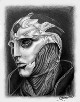 Thane Krios by Slightly-Spartan