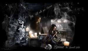 BONNIE THE BENNETT WITCH by VaL-DeViAnT