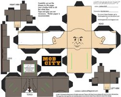 MobCity1: Hal Morrison Cubee by TheFlyingDachshund