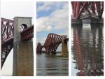 Forth Rail Bridge Panel by sicklittlemonkey