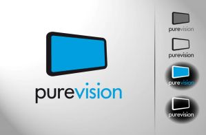 pure vision logodesign by 2d4u
