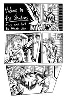 Hiding in the Shadows Inked page 1 preview by eMokid64