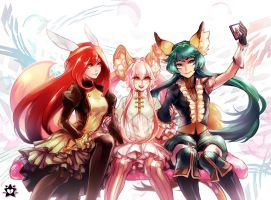 Nel, Sinnett and Raneri by E-X-P-I-E
