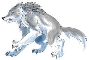 Skyclan Character Sketch by NyraXerz