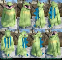 Shiny Totodile Hoodie by invader-gir