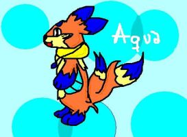 Aqua the Buizel by buizelfight