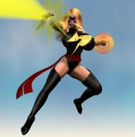 Expanded Ms. Marvel by Chup-at-Cabra