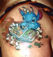 Disney Stitch 'I'M LOST...' by tattoo-starlet
