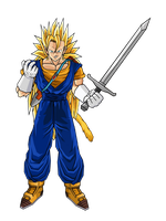 Future Vegeto SSJ3 V1 by DBZArtist94