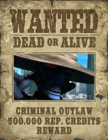 Cad Bane Wanted Poster by JessicaBane501