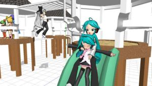 MMD Playground by SadisticSympathetic