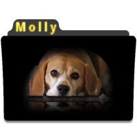 Folder Icon for Molly by PeterPawn