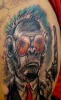 gun monkey by seanspoison