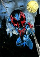 Spider-man 2099 Back by DKuang