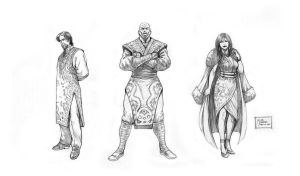 Project Legacy - Antagonists-A by werder