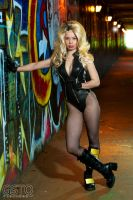 Black Canary Under the Bridge by gstqfashions