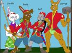 Girls of the Long Patrol: In Color. by Woaddragon