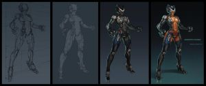 nanoboosted catwoman making by KhezuG