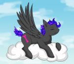This cloud is comfy by WetFox