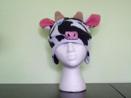 Mad Hatters Cow Hat by WonderlandCreations