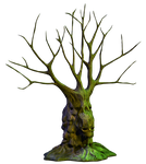 Spooky Tree 04 PNG Stock by Roys-Art