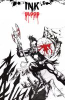 Ares Ink + Blood by Arciah