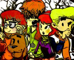 Meddling Kids by kraola