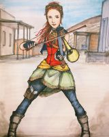 Lindsey Stirling - Roundtable Rival by ThomChen114