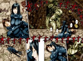 GANTZ 356 I want die together with Kei by BrkHeaven
