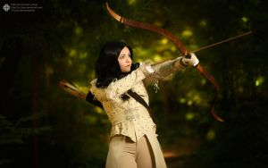 Snow White.You are under the gun. by Veiltale