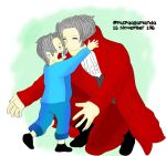Edgeworth with his son by allamandaphotography