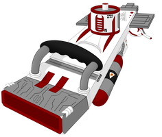 Agent Xavier Weapons: Plasma Disk Launcher by Lugbzurg