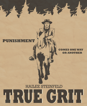True Grit Poster by miracledrug