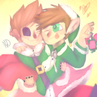 Eddsworld: 2 Pairs Of Jolly {CONTEST ENTRY} by Deviant-MankDemes