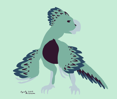 Simple Saurian by MintyDreams7
