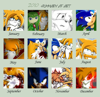 2010 - Summary of Art by SilverAlchemist09