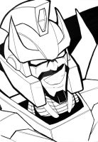 Shattered Glass Rodimus Sketch by RID-NightViper