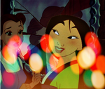 Belle and Mulan by SweetHea